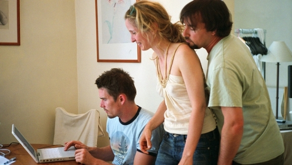 Ethan Hawke, Julie Delpy and Richard Linklater