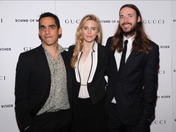 Zal Batmanglij, Brit Marling and Mike Cahill